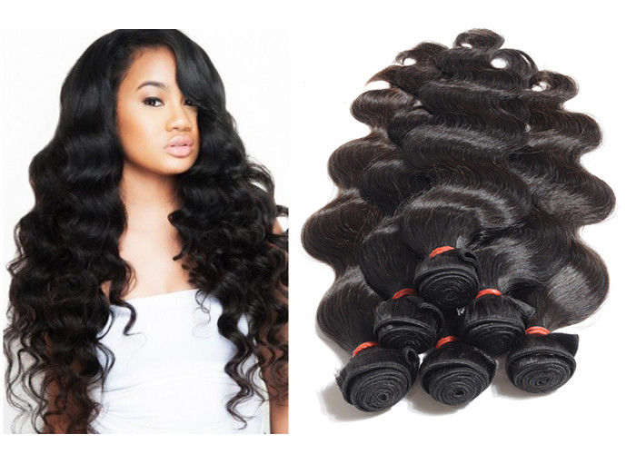 Full Cuticles Body Wave Unprocessed 12A Virgin Hair With Lace Closure